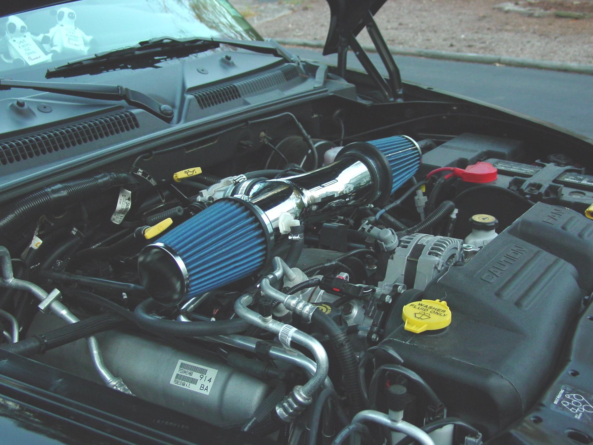 Dual on 2001 Dodge Dakota Air Intake System